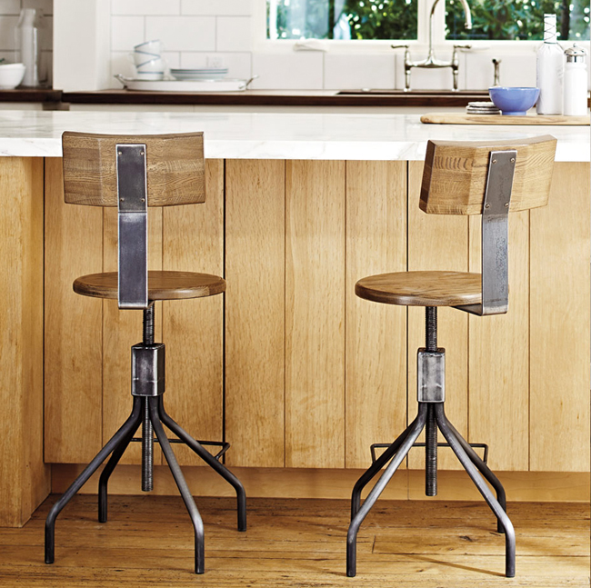 Pleasant How To Choose The Right Stool Height Machost Co Dining Chair Design Ideas Machostcouk