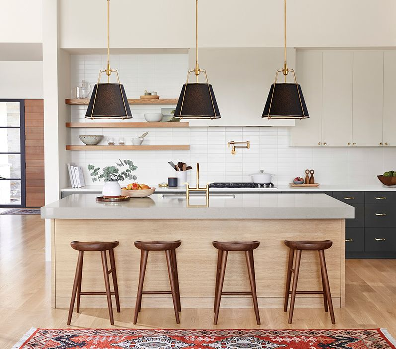 how to light your kitchen island